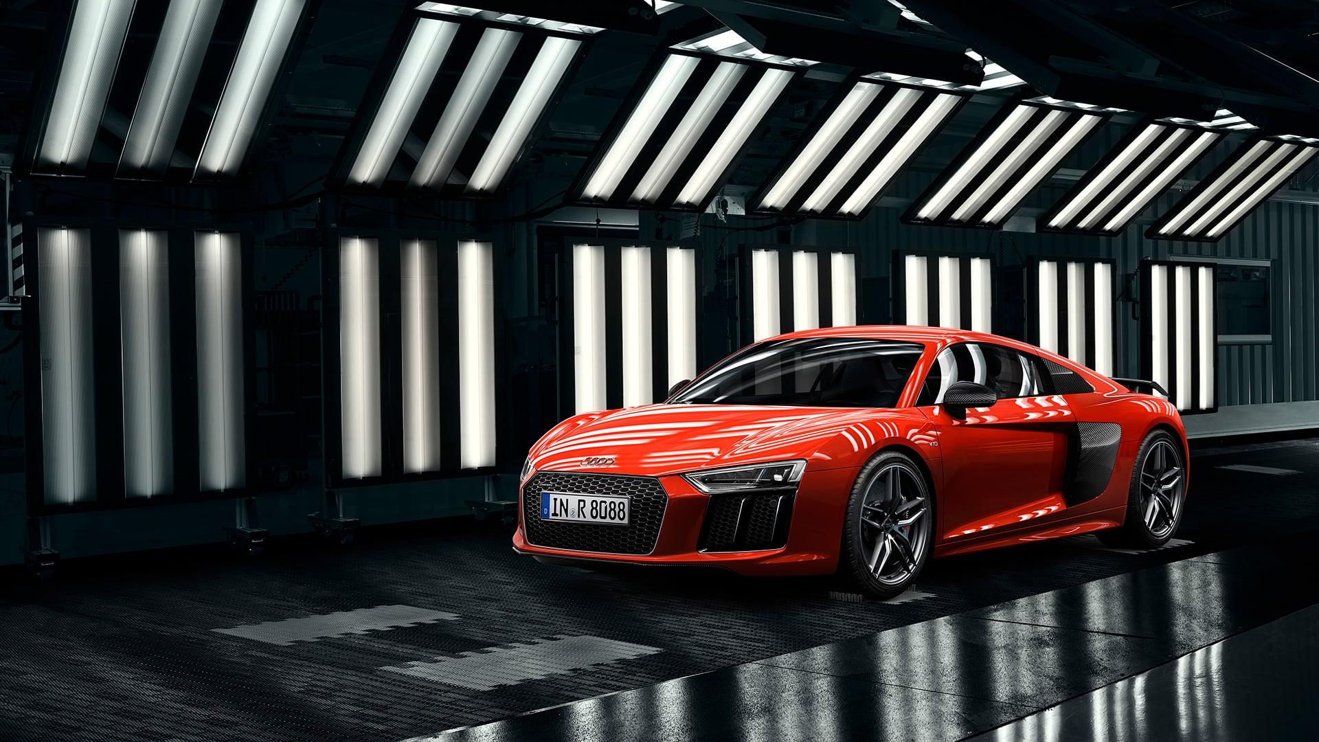 Audi R8 Coupe V10 Plus